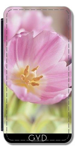Custodia in PU Pelle per Sony Xperia Z3 + - Fiore Rosa Sboccio by WonderfulDreamPicture