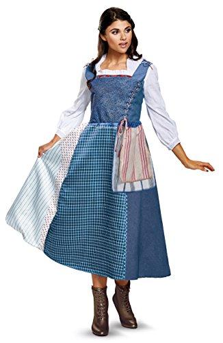 Belle Village Dress Deluxe Womens Fancy dress costume Large