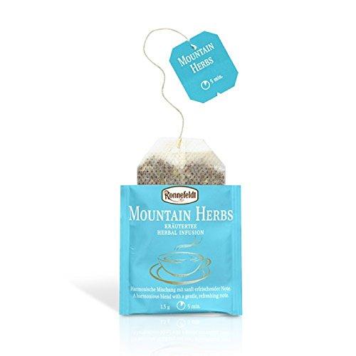 Ronnefeldt Teavelope Mountain Herbs, Kräutertee, Bio-Qualität, Teebeutel (25 x 1,5 g)
