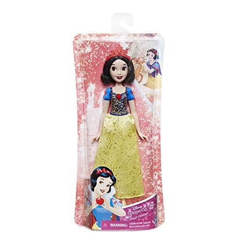 Hasbro E4161ES2 - Disney Prinzessin, Schimmerglanz Schneewittchen, Puppe (Schneewittchen Barbie Disney)