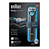 Braun BG5010 Wet/Dry Body Groomer for Men (Black)