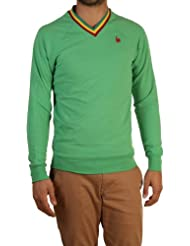 Le Coq Sportif - Sweat Col V Rooster Only