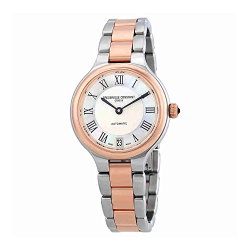 Frederique Constant MOP Dial Stainless Steel Ladies Watch FC306MC3ER2B