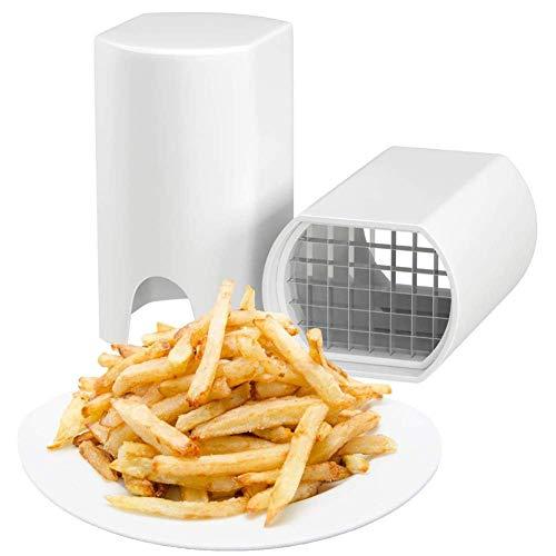 RUIVEN Kartoffelschneidemaschine-Multifunktionszerhacker, schnelle Operation, die Pommes-Frites schneidet