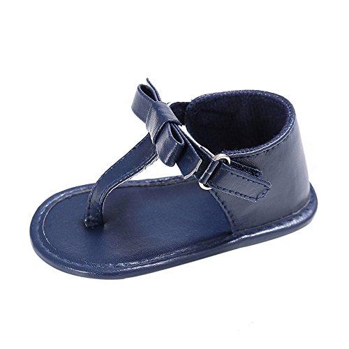 Preisvergleich Produktbild Vovotrade Baby-Quaste Sandalen Kleinkind -Prinzessin erste Wanderer Mädchen Kid Schuhe (Size:13, Blau)
