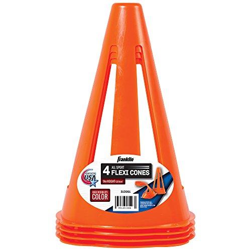 Preisvergleich Produktbild Franklin Hütchen Fussball-Zubehör, Orange, One size