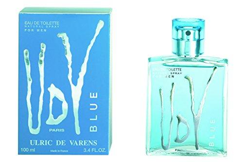 Ulric de Varens Blue Eau de Toilette für Herren, 100ml