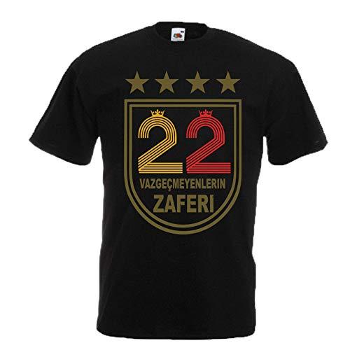 78ef0bb94d Alternatif - T Shirt Galatasaray 2019 Sampiyonluk T Shirt UltrAslan Istanbul  Türkiye TS1026 (M,