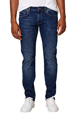 ESPRIT Herren 998EE2B808 Straight Jeans, Blau (Blue Medium Wash 902), W33/L34