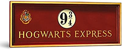 Noble Collection nn7041 – Harry Potter Color placa pared riel 9 y 3/4