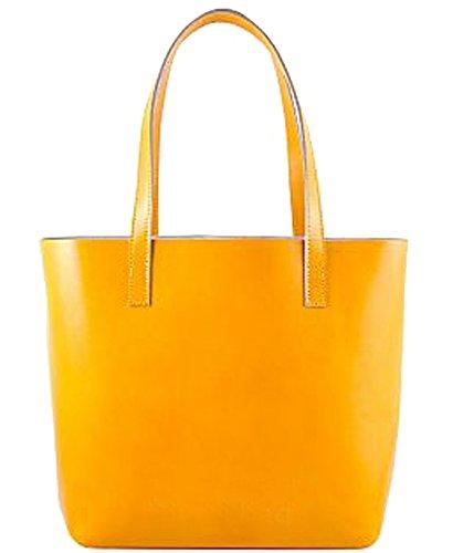 G&G PELLETTERIA , Sac pour femme à porter à l'épaule jaune