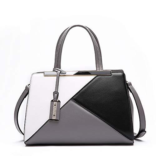 NOBIE, Mode Damen Handtasche, Umhängetasche, Crossbody-Tasche, Den Trend, Vernünftige Innenraum Design,B