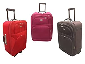New Lightweight Small Wheeled Hand Trolley Luggage Flight Bag Cabin Suitcase