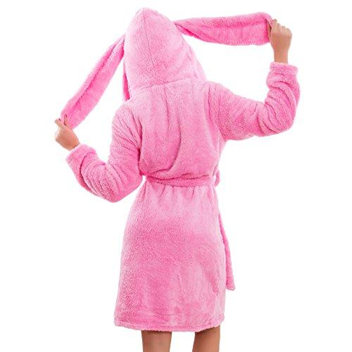 Toocool - Vestaglia donna intimo eco pelliccia CONIGLIO bunny kigurumi sexy nuovo F7020 Fuxia