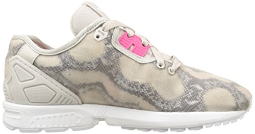 Adidas Zx Flux Decon W Scarpe sportive, Donna Pearl Grey S14/Joy Pink S13/Ftwr White