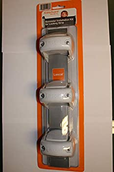 Lascal 29121 Lot de 3 supports de tube pour KiddyGuard Avant/Accent Assure Blanc