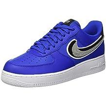 Zapatillas Air Force Nike es Amazon Hombre Azul 0x7vztq