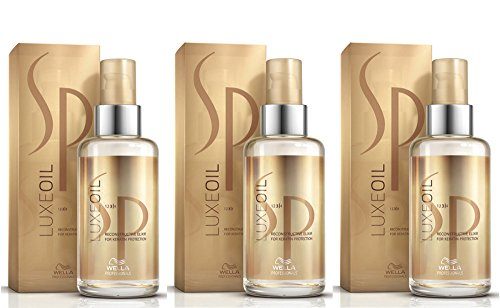 Lot de 3 Wella SP Luxe Oil - 100 ml - Un élixir réparateur