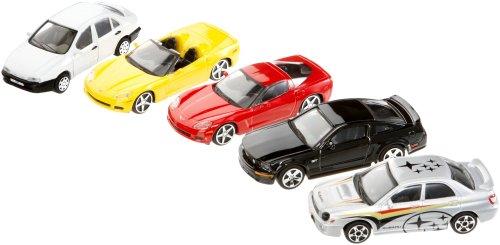 May Cheong Group - 30005 - Véhicules Miniature - Coffret 5 Voitures - Métal Burago - Echelle 1:43 - modèles et Coloris aléatoire 4893993300051