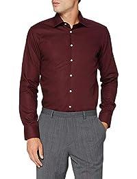 Seidensticker Herren Business Bügelfreies Hemd mit sehr schmalem Schnitt-X-Slim Fit-Langarm-Kent-Kragen