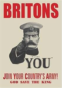 World War 1 Lord Kitchener Recruitment Poster - A3
