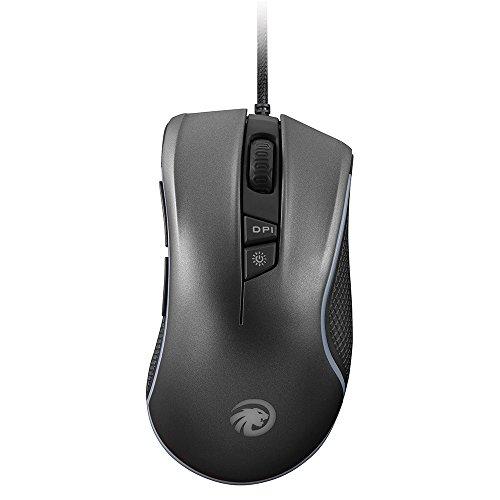 Gaming Maus, F3004.000Hohe Präzision USB Wired optische Spiel Mäuse, 7-button programmierbar, 5verstellbare DPI, für Windows Mac und Linux, PC Laptop Computer