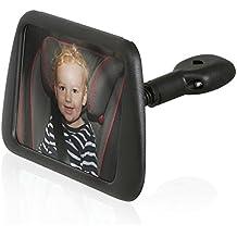 Wicked Chili asiento trasero espejo retrovisor para asiento infantil imberi contrarios al sentido (espejo tamaño: 140 x 88 mm, inclinable, orientable, sin vibraciones, fabricado en Alemania)