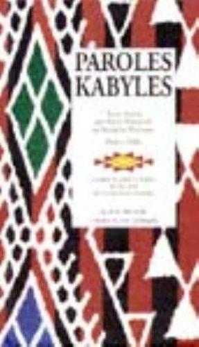 Paroles kabyles