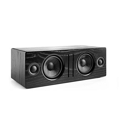 Audioengine B2 Ash aptX Stereo Aktiv Lautsprecher (Bluetooth, 2 x 30 Watt) schwarz