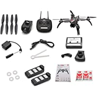 MJX Bugs 5W B5W 1080P 5G WiFi FPV Camera GPS RC Drone Quadcopter RC Drone (Silver-Bugs 5W + 2 Battery)