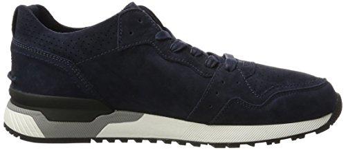 Crime London Kobe, Sneakers Basses Homme Bleu (Navy)