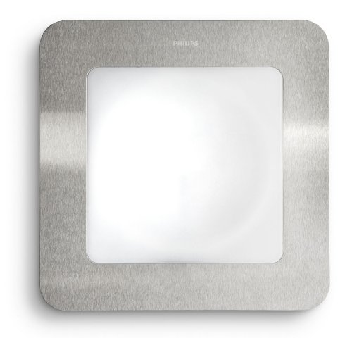 Philips Ecomoods Orchard Outdoor Wall Light Stainless Steel (Includes 1 x 22 Watts 2GX13 Bulb)