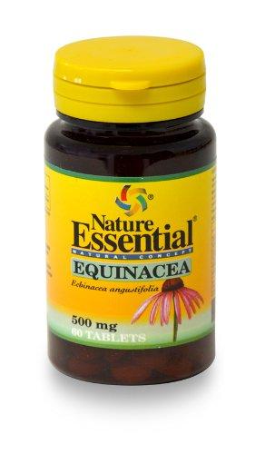 Echinacea 500 Mg. 60 Tabletten - natürliches Antibiotikum - Desinfektionsmittel und Antispasmodique -