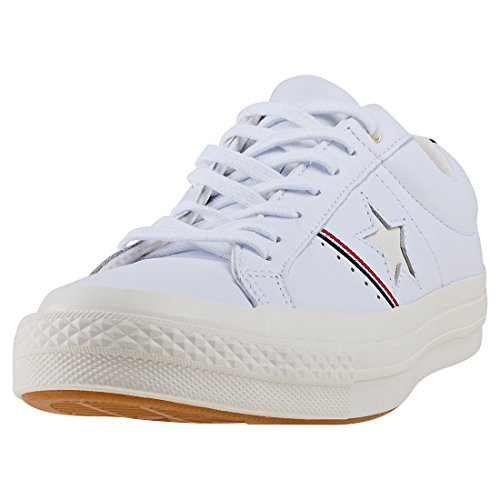 Converse One Star (Converse One Star Ox Schuhe White/Red/Egret)