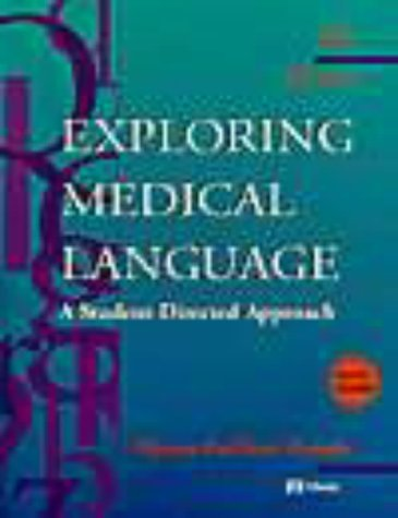 Exploring Medical Language: A Student-Directed Approach (Book with CD-ROM for Windows and Macintosh with Flashcards) by Myrna Lafleur Brooks (1998-01-15) (Medical Language Flashcards)