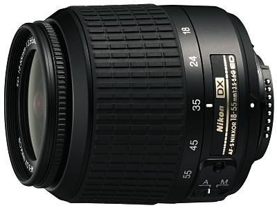 Nikon AF-S DX 18-55 3.5-5.6G ED Objektiv (Nikon D2xs)