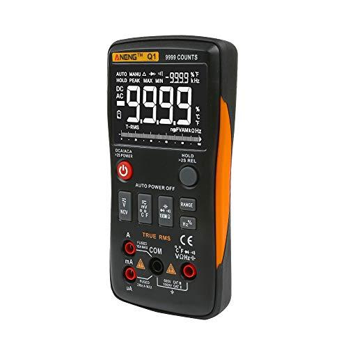 Cyond, digitaler Hochpräzisionsautomatikbereich, Mini-Multimeter, geeignet für elektrisches Multimeter für die Instandhaltung von Haushalten -