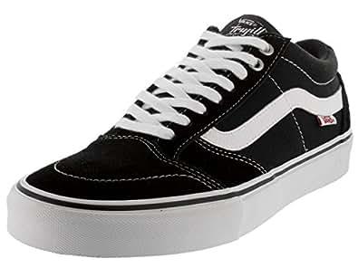afe1dae050de15 Vans Men s TNT Sg Black White 44