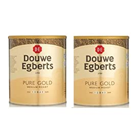 2 x 750g Douwe Egbert Pure Gold