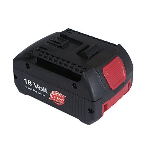 Preisvergleich Produktbild FLAGPOWER Bosch 18V 4.0Ah Akku für Bosch BAT609 BAT618 BAT618G BAT610G 2 607 336 170 2 607 336 235 2 607 336 091 Ersatzakku