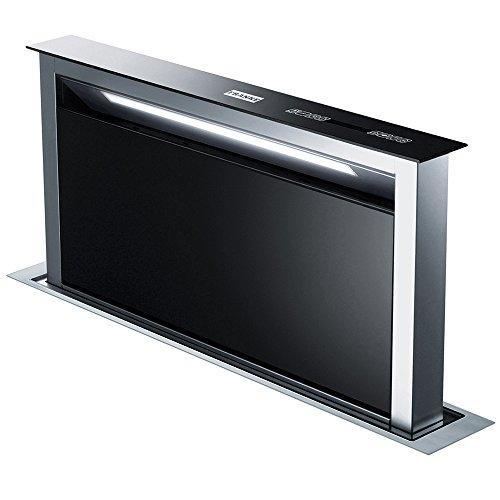 Franke FDW 908 IB WH Dunstabzugshaube/Tischhaube / Glas / 25 cm/Dunstabzugstischhaube mit Fernbedienung/LED-Beleuchtung/Edelstahl / weiß