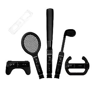 Nintendo Wii Sport Set, 8in1, black