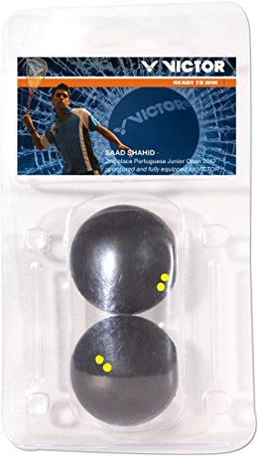 VICTOR Squashball Blister, Doppel Gelb, 170/7/0 -