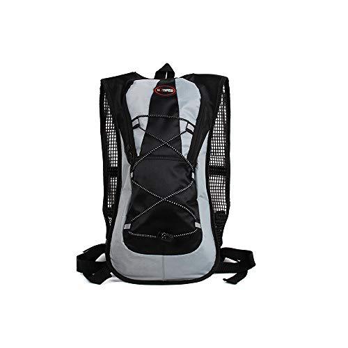 Outdoor-Sport Fahrrad Tasche Wasserdichte tragbare atmungsaktive einstellbare Schultergurt große Kapazität Umhängetasche Rucksack geeignet für Wandern Laufen