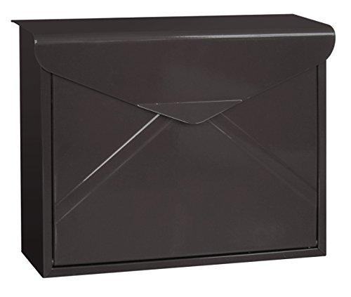 funkybuysr-large-black-paris-pb-1007b-galvanized-steel-wall-letter-post-box-mailbox-with-newspaper-h