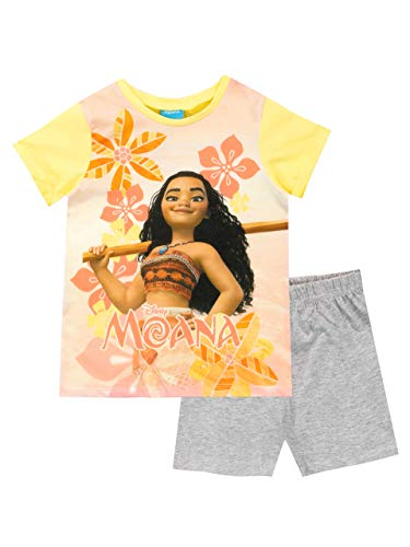 Disney Mädchen Moana Schlafanzug Gelb 98 -