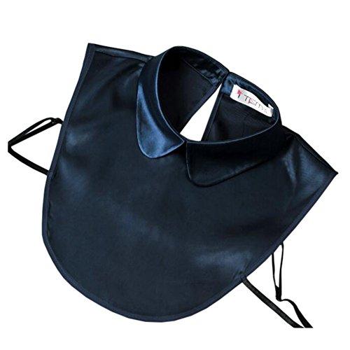 Collier à col en faux à la mode Collier détachable pour collier faux Bleu