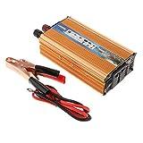 Homyl Spannungswandler 1000W Wechselrichter DC 24V auf AC 220V Power Inverter Converter mit Kabel