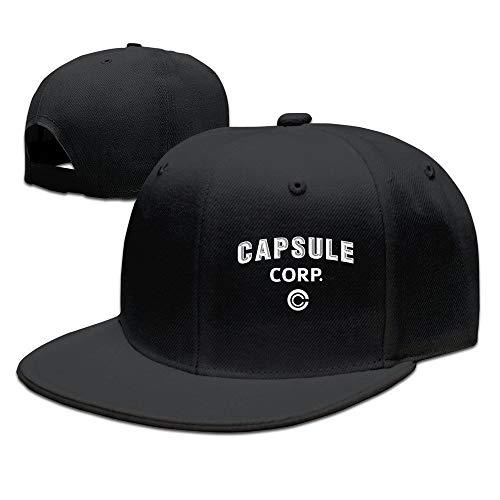Trithaer Dragon Dall Capsule Corp Baseball Snapback Cap Black Gorras