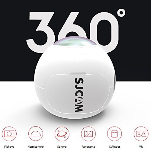 Original SJCAM SJ360 Camera 12MP Sony IMX206 Sensor 2K Mini Panoramic Camera 220 Degree Sport VR Camera WIFI Action Camera Sport DV Riding Recorder 1pcs Extra Battery